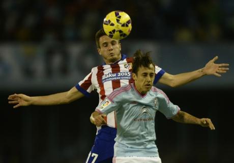 C Vigo 2-0 Atletico Madrid: Defense dented