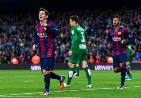 Messi, cada vez más cerca de CR7
