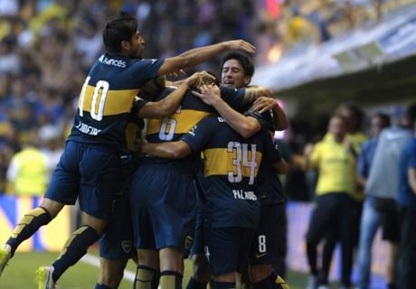 Postales de Boca 3-1 Olimpo