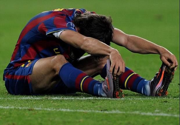 Barcelona's Bojan Krkic picks up ankle injury on Spain Under-21 duty