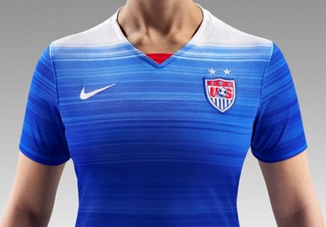 U.S. Soccer unveils new away jersey