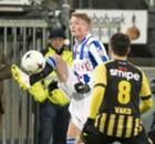 Heerenveen zonder Larsson tegen Groningen
