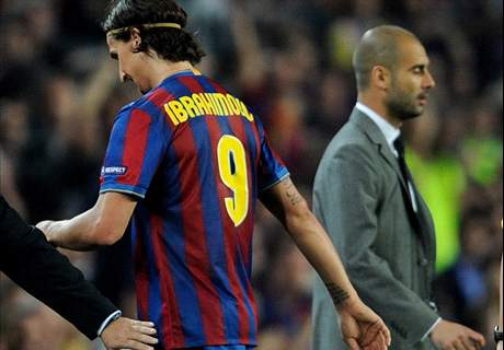 'Guardiola let Ibrahimovic down'
