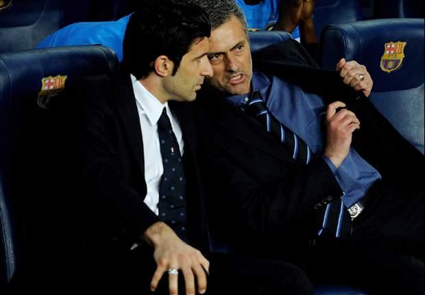 José Mourinho buscaría a Figo como director deportivo