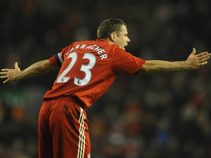 Top 5 Jamie Carragher performances