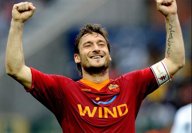 Roma Captain Francesco Totti Praises Fans For Support