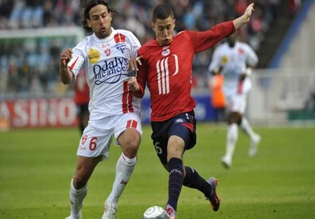 Lille Starlet Eden Hazard Criticised By Nancy Defender Andre Luiz