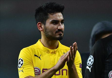 Dortmund: No Man Utd deal for Gundogan