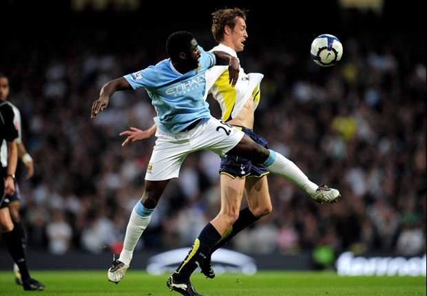 Manchester City 0-1 Tottenham: Peter Crouch goal sends Spurs into Champions League