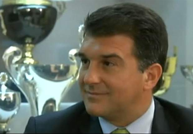 Barcelona President Joan Laporta: There Are Only A Few Details Left To Sign David Villa