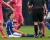 Schalke 04, Huntelaar sort sur blessure