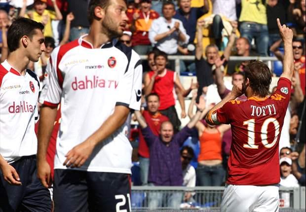 Player Ratings: Roma 2-1 Cagliari