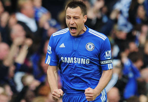 Premier League: John Terry - Chelsea v Wigan Athletic (Getty Images)