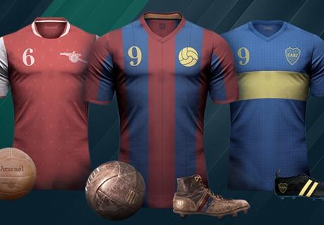 GALERÍA: Equipaciones retro del fútbol