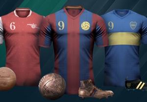 アルゼンチン系イタリア人のエミリオ・サンソッリーニ氏が、世界中のクラブのユニフォームを美しいレトロなものにデザイン <a href='https://www.behance.net/emiliosansolini' target='_blank'>behance.net/emiliosansolini</a>