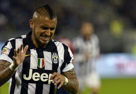 Juventus, Vidal apte pour le choc contre la Roma