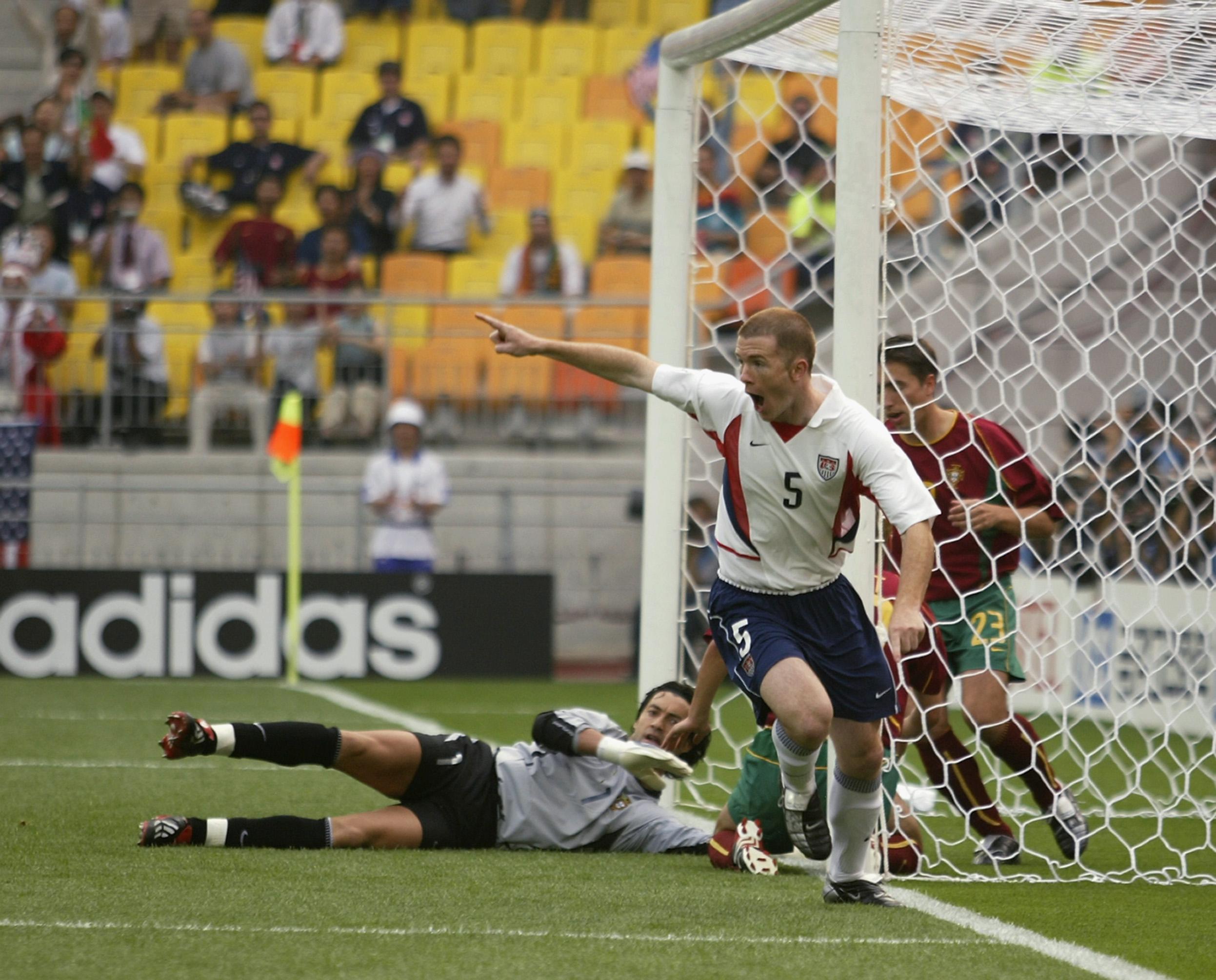 John Obrien United States Usa World Cup 2002 Vs