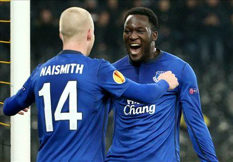 Young Boys 1-4 Everton: Lukaku hat trick