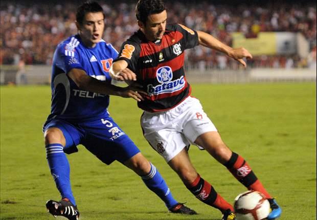 Libertadores: U. de Chile se mete en semis ante Flamengo (1-2)