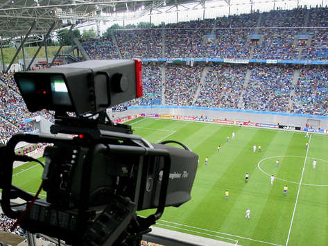 TV camera (Getty Images/Bongarts)