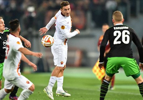 Roma 1-1 Feyenoord: Another draw