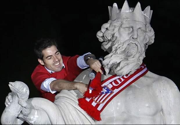 Neptuno ya espera al Atlético de Madrid