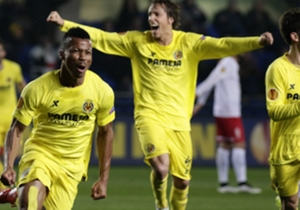 Delight for Ike Uche, whose Villarreal side eased past Red Bull Salzburg