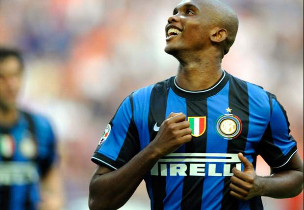 Inter 2-1 Udinese: Lucio And Samuel Eto'o Score As Inter Win Their First Home Serie A Game Of The Season