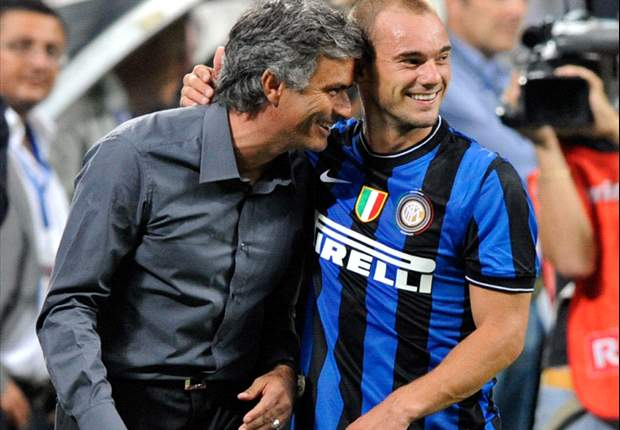 Inter ace Wesley Sneijder believes Jose Mourinho will manage Manchester United and England in the future