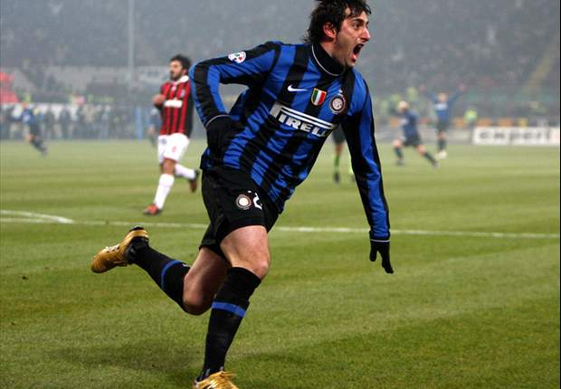 Agent Confident Inter Striker Diego Milito Will End Goal Drought Against Bari