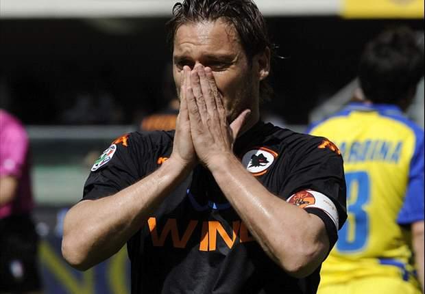 Francesco Totti Thanks Roma Fans After Title Heartache