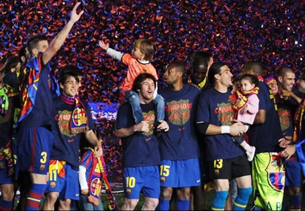 DAFTAR JUARA La Liga Primera Spanyol