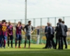 Barcelona name training pitch after Vilanova