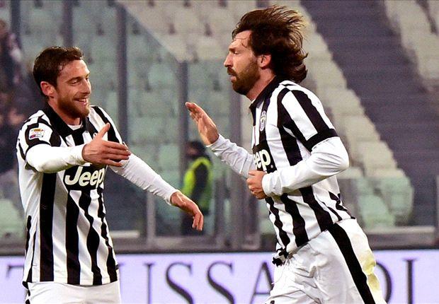 Juventus 2-1 Atalanta: Pirlo thunderbolt spares champions' blushes
