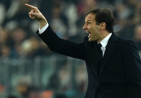 Allegri furious despite Roma point gap