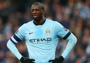 YAYA TOURE | Liverpool 2-1 Manchester City | A sluggish and wasteful display in a two-man midfield, and was swamped by Liverpool's best performers.