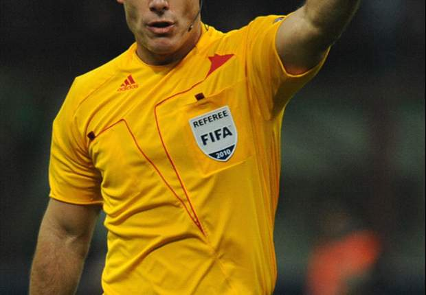 Introducing Howard Webb - the Ovrebo-looking Englishman to referee Inter & Bayern in Champions League final