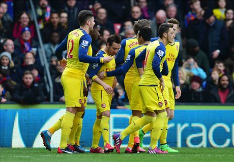 Player Ratings: C. Palace 1-2 Arsenal