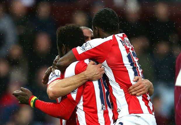 Aston Villa 1–2 Stoke City: Sherwood starts with defeat after late Moses penalty
