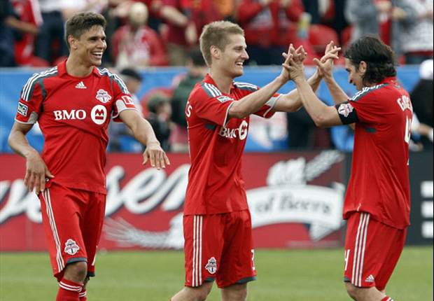 Fireworks On And Off the Pitch, as TFC-Dynamo Gets Heated