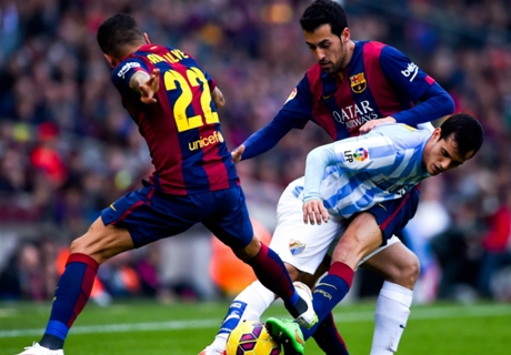 Player Ratings: Barcelona 0-1 Malaga
