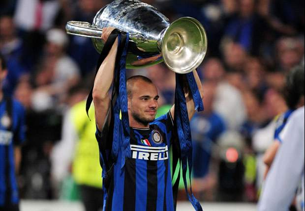 Inter and Netherlands star Wesley Sneijder 'proud' to win Goal.com 50