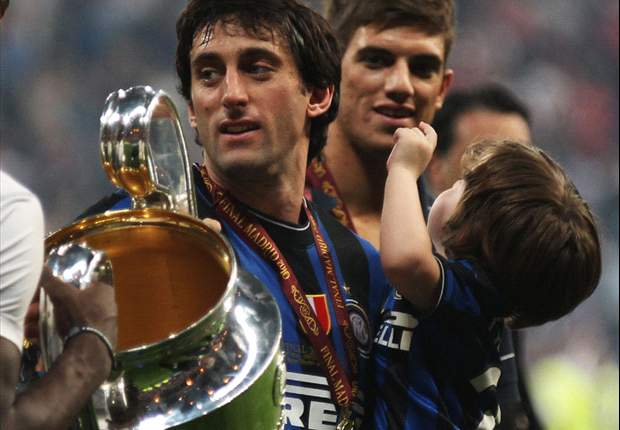 Diego Milito Wants Inter Treble Repeat