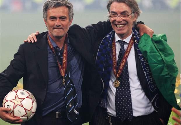 """Massimo Moratti asegura que su relación con José Mourinho """"es sólo cortesía"""""""