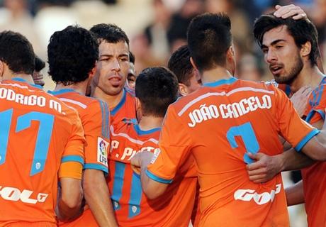 Résumé de match, Cordoue-Valence (1-2)