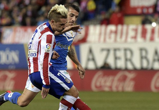 Atletico Madrid 3-0 Almeria: Two more for Griezmann as champions make the most of Barca slip
