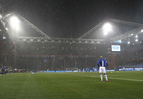 Heavy rain halts Sampdoria clash