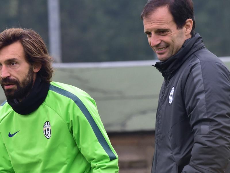 Massimiliano Allegri Berharap Andrea Pirlo Kembali Kontra Borussia Dortmund