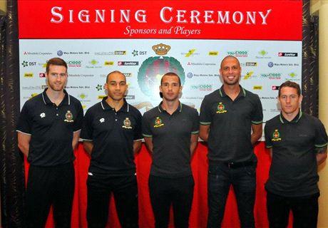 Brunei sign former EPL star