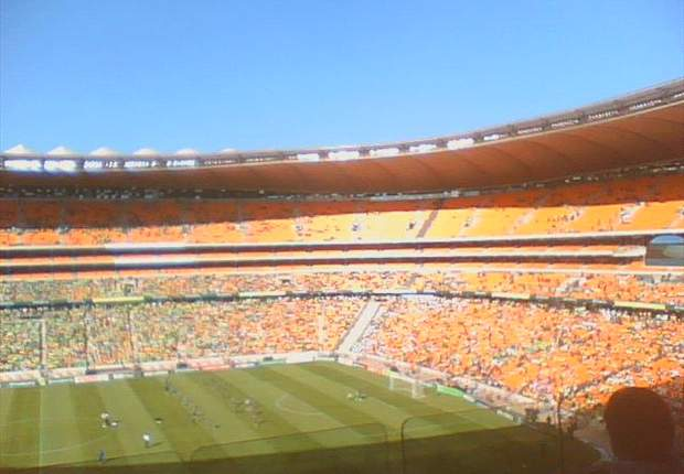 Soccer City, the FNB Stadium anticipates the Nedbank Cup decider